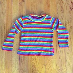 Designer rainbow turtleneck